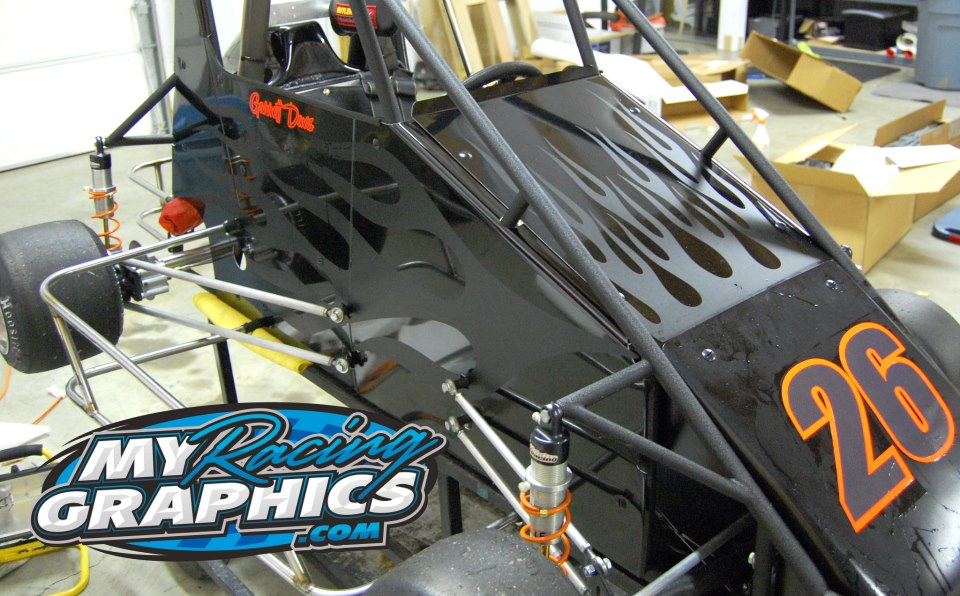 Quarter midget graphics
